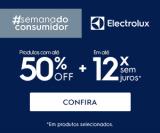 Semana do Consumidor: produtos selecionados com até 50% de desconto na Electrolux