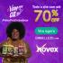 Vem pra cá Novex: todo o site com até 70% de desconto na Embelleze