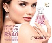 Revenda cosméticos, perfumes e maquiagem e ganhe até R$ 40,00 a cada R$ 100,00 na Eudora Revendedoras