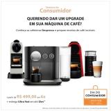 Semana do Consumidor: Cafeteiras Nexpresso em oferta da loja Fast Shop