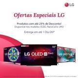 Ofertas Especiais LG:  Smart TV com até 25% desconto no Fast Shop