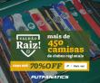Saldão Raiz: mais de 450 camisas regionais com até 70% de desconto no FutFanatics