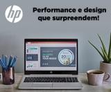 Performance e design que surpreendem na HP