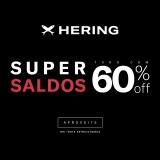 Super Saldos: tudo com até 60% de desconto na Hering