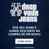 Drop Your Jeans: doe seu jeans e ganhe um desconto na compra de um novo na John John