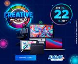 Creative World: até 22% de desconto no KaBuM!