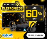 Especial Eletrônicos: Seleção de Áudio, Smart TV e Streaming com até 60% de desconto no KaBuM!