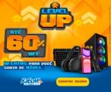 Level Up: ofertas para você subir de nível com até 60% de desconto no KaBuM!