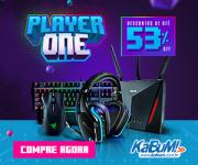 Player One: periféricos com até 53% de desconto no KaBuM!