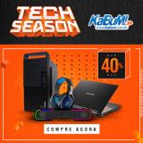 Tech Season: até 40% de desconto no KaBuM!