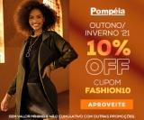 10% de desconto no Outono/Inverno 21 nas Lojas Pompéia