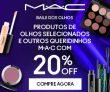 Baile dos Olhos: 20% de desconto + ganhe produto full size acima de R$ 299,00 na MAC