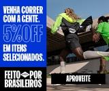 Venha correr com a gente: 5% de desconto em produtos selecionados na Olympikus