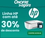 Linha HP com até 30% de desconto na Onofre Agora Eletro