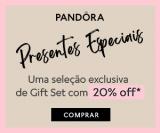 Presentes Especiais: Seleção Exclusiva de Gift Set com 20% de desconto na Pandora
