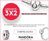 Promoção 3X2: Leve Três joias, Pague Duas na Pandora