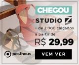 Mais de 2.000 calçados femininos da StudioZ em oferta da loja Posthaus