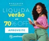 Liquida Verão: até 70% de desconto na Posthaus