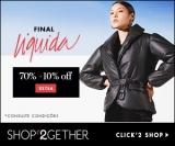 Final Liquida: até 70% de desconto + 10% de desconto Extra no Shop2gether
