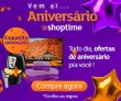 Esquenta de Aniversário: todo dia ofertas de aniversário no Shoptime