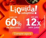 Liquida: até 60% de desconto + até 30% de cashback e até 12X sem juros no Shoptime