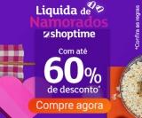 Liquida de Namorados: até 60% de desconto no Shoptime