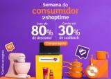 Semana do Consumidor: tudo com até 80% de desconto + até 30% de cashback no Shoptime