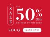 Sale: até 50% de desconto em itens selecionados na SouQ
