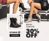 Botas com até 30% de desconto no Studio Z