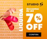 Liquida: até 70% de desconto no Studio Z
