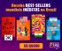 Receba Best Sellers Mundias inéditos no Brasil da Tag Livros