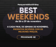 Best Weekends: a Black Friday da TrazpraCa
