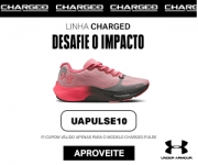 10% de desconto no tênis Charged Pulse na Under Armour