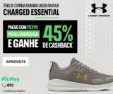 Compre tênis Charged Essencial com Pic Pay pelos cartões Elo e ganhe 45% de cashback na Under Armour