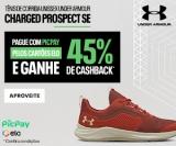 Compre tênis Charged Prospect SE com Pic Pay pelos cartões Elo e ganhe 45% de cashback na Under Armour