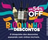 Bloquinho de Descontos: até 54% de desconto no Vinho Fácil