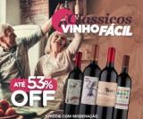 Clássicos Vinho Fácil até 53% de desconto na Vinho Fácil