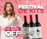 Festival de Kits: com até 51% de desconto no Vinho Fácil