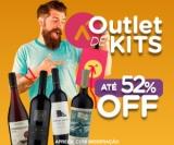Outlet de Kits: com até 52% de desconto no Vinho Fácil