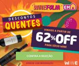 Winefolia: Descontos Quentes a partir de 62% para associado no Wine