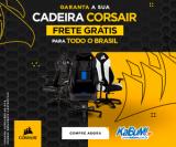 Cadeira Corsair com Frete Grátis Brasil no KaBuM!