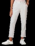 Calça Básica Feminina Skinny em Tecido Linho Off White em oferta da loja Hering