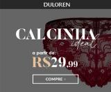 Calcinha ideal em oferta da loja DuLoren