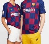 Camisa Nike Barcelona I 2019/20 Torcedor Pro Unissex em oferta da loja Nike
