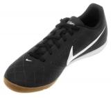 Chuteira Futsal Nike Beco 2 preta e branca em oferta da loja Netshoes