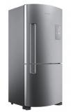 Geladeira Brastemp Frost Free Inverse 573 litros com Smart Bar inox 110V em oferta da loja Brastemp