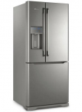 Geladeira Frost Free Electrolux 538 Litros 3 portas Inverse Inox Água na Porta (DM86X) em oferta da loja Shopclub