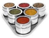 Jogo Porta Condimentos Tempero magnético Inox 7 peças em oferta da loja Shoptime