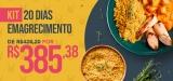 Kit 20 dias de emagrecimento em oferta da loja Lucco Fit