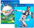 Kit Game Everybody's Golf + Game FIFA 19 PS4 com 60% de cashback no Submarino
